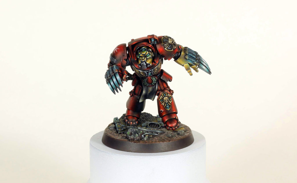 Martin Wyatt Space Marine Hero (front)